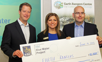 RBC giant cheque