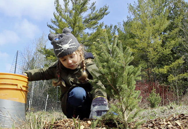 Earth Rangers Planting Event in Mississauga