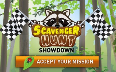 Scavenger Hunt Showdown: find it all in a park this summer